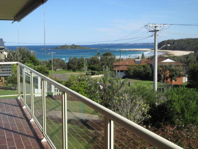 View over Manyana Beach